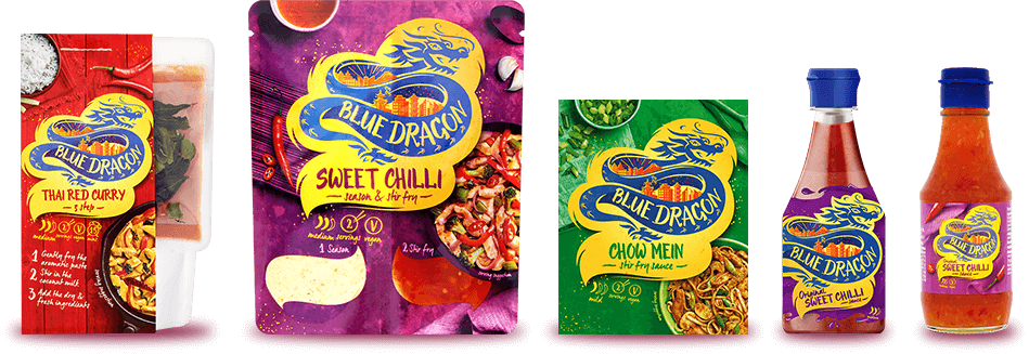Blue Dragon product shots